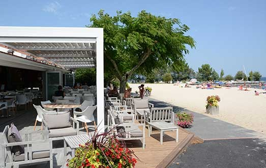 restaurant lac de Biscarrosse